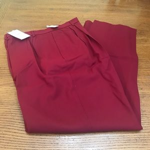 NWT Womens Talbot Pants 100% Worsted Wool